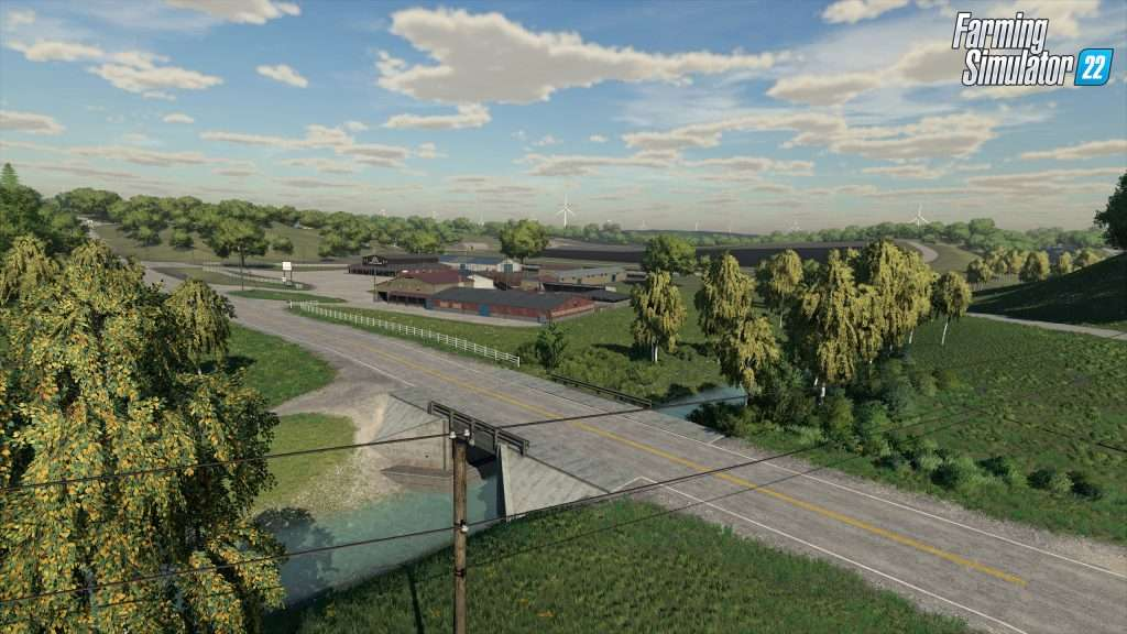 Elmcreek: The updated US map in FS22